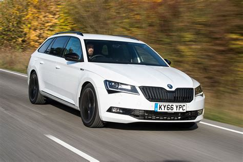 skoda superb sportline estate  review auto express