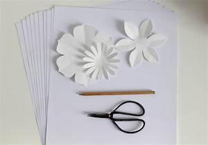 Fleur De Papier : diy cr ez facilement vos fleurs en papier la ~ Farleysfitness.com Idées de Décoration