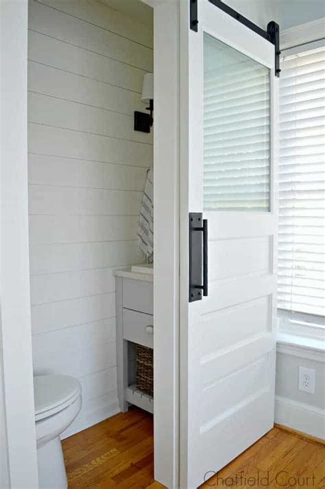 Bedroom Turned Tv Room by Tiny Powder Room Reveal Chatfield Court