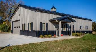 cost of morton building garage morton buildings use clear span construction to offer open