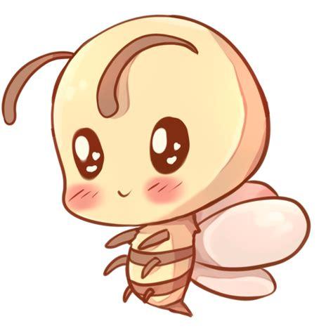drawn bees kawaii pencil   color drawn bees kawaii