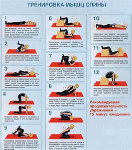 Какие делать упражнения от остеохондроза спины