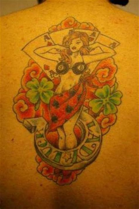 lady luck tattoos designs ideas  meaning tattoos