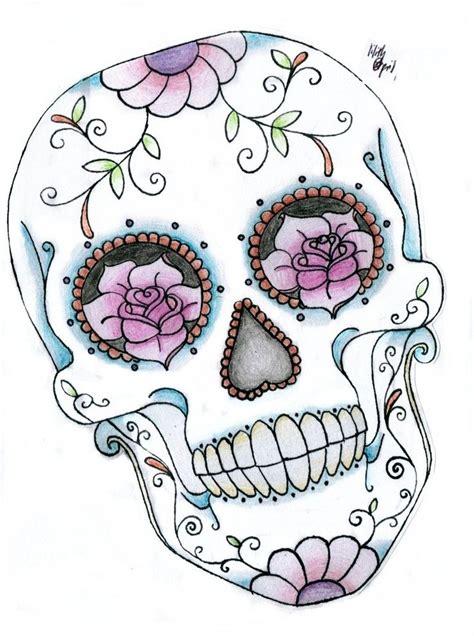 feminine skull tattoos ideas  pinterest