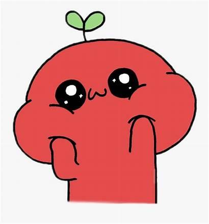Tomato Kawaii Clipart Face Spring Transparent Clipartkey