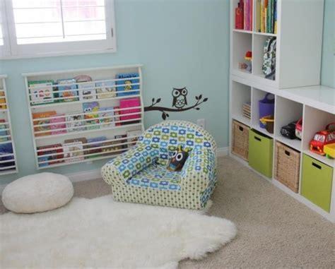 chambre fourrure tapis chambre enfant 25 idées adorables en couleurs