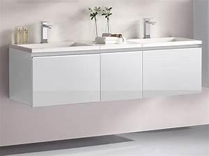 Gäste Wc Waschtisch Set : badm bel set g ste wc doppelwaschbecken inkl 2 x spiegelschrank cosma 160cm ebay ~ Markanthonyermac.com Haus und Dekorationen