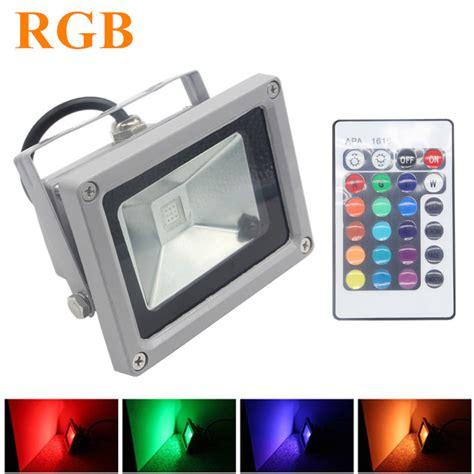 rgb led flood light 10w 20w 30w 50w foco led exterior