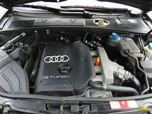 2002 Audi A4 1 8t Sedan 1 8l Turbocharged Dohc 20v 4 Cylinder Engine Photo  37600671