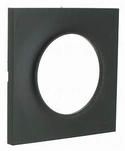 Plaque Schneider Odace : plaque schneider electric odace styl 1 poste anthracite ~ Dallasstarsshop.com Idées de Décoration