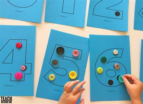 Preschool Math Activities  Teach Beside Me