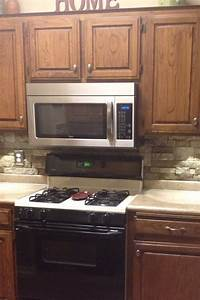 the 25 best airstone backsplash ideas on pinterest diy With kitchen cabinets lowes with holographic sticker