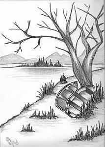 Beautiful Nature Easy Drawings - Drawing Of Sketch