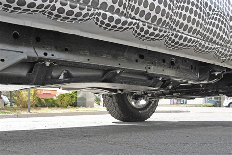 ford bronco undercarriage