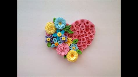 paper quilling art quilling valentines day idea