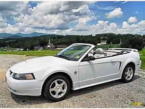 2004 Oxford White Ford Mustang V6 Convertible #83206408 Photo #3 | GTCarLot.com - Car Color ...