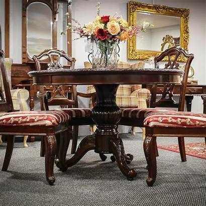 Table Dining Round Antique French Marsais
