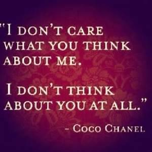 I don't care... - FaveThing.com