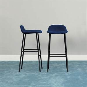 Chaise De Bar Bleu : enchanteur tabouret de bar bleu avec chaise de bar confortable tabouret 2017 images tabouret de ~ Teatrodelosmanantiales.com Idées de Décoration