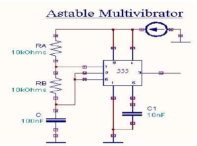 Astable Multivibrator Using Timer Download