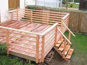 Garde corps bois a angers maine et loire exterieur for Modele escalier exterieur terrasse 8 balustrade bois exterieur pas cher