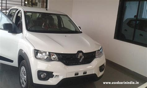 renault kwid white colour renault kwid car available for sale used car in india