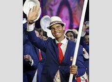 Rafa Nadal en la ceremonia de inauguración de los Juegos