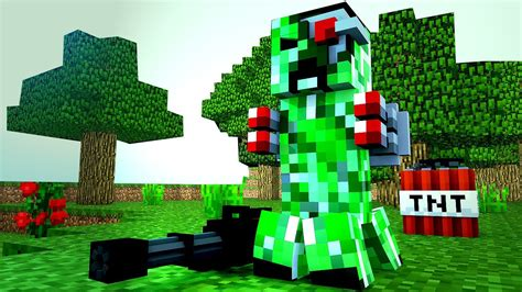 Fondos De Pantalla Apple Creeper Minecraft Wallpaper Hd 15001 Baltana