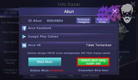 Mobile Legend 2 Akun Ios