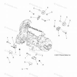 Polaris Atv 2013 Oem Parts Diagram For Engine Mounting