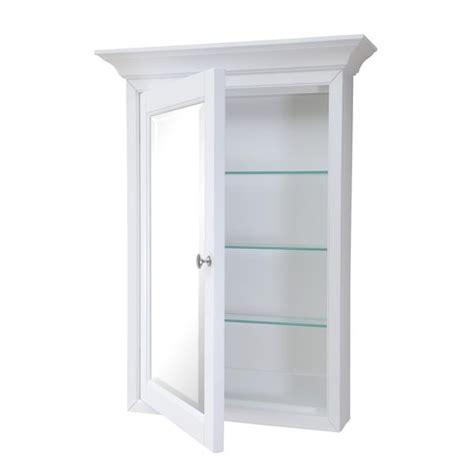 kitchen medicine cabinet newport wall mounted medicine cabinet white 2295