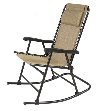 Folding Rocking Lawn Chair In A Bag by Folding Rocking Chair Foldable Rocker Outdoor Patio