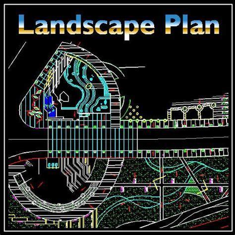 Residential Landscape Design 11 ? CAD Design   Free CAD