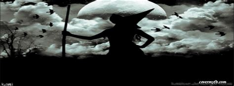 witch silhouette facebook covers witch silhouette fb