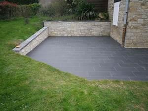 Terrasse Avec Muret : remplacement d 39 une terrasse bois par une terrasse b ton ~ Premium-room.com Idées de Décoration
