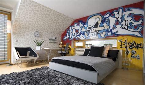 chambre style urbain déco chambre ado style urbain