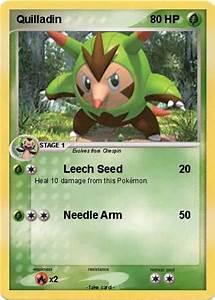 Pokémon Quilladin 48 48 - Leech Seed - My Pokemon Card