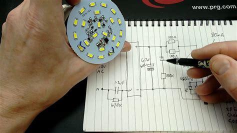 intelligent emergency lamp  schematic