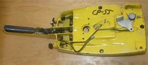 Mcculloch Cp 55 Chainsaw Rear Trigger Handle Fuel Tank