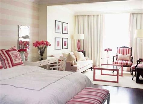 pink master bedroom 15 classy bedrooms with striped walls rilane 12876 | master bedroom with pink striped walls