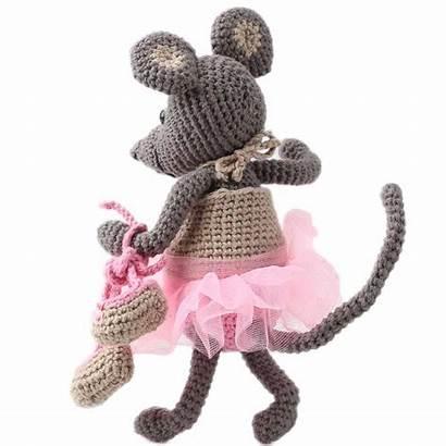 Ella Amigurumi Souris Crochet Garnkurven Kits Tricot