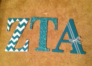 zta sorority wooden letters craft frat star pinterest With fraternity wooden letters
