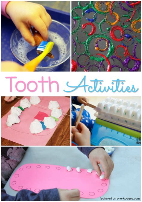 activities   dental health theme pre  pages