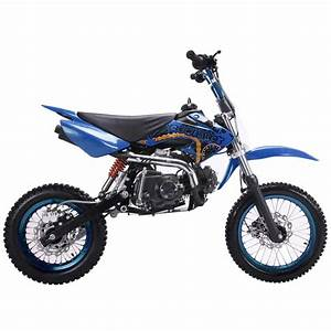 Coolster 125cc Deluxe Pit  Dirt Bike Calif Legal