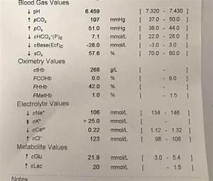 Blood Gas Result 2