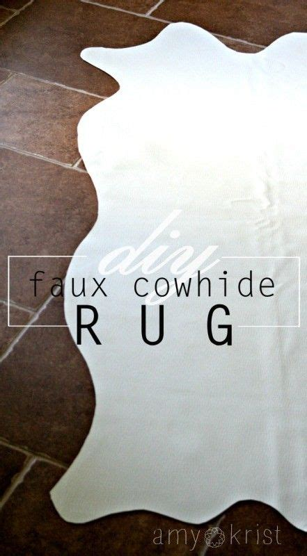 Diy Faux Cowhide Rug by Diy Faux Cowhide Rug Keeping It Real Faux