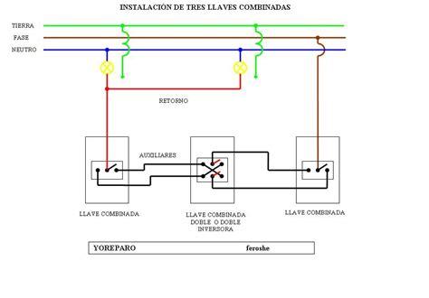 solucionado combinar de 2 interruptores combinados para una bombilla electricidad