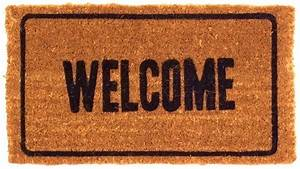 WELCOME DOORMATS ; SHELLS DOORMATS ; THICK COIR MATS ...