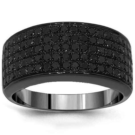 mens black diamond rings black diamond rings  men