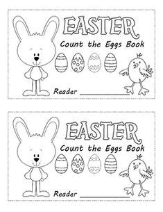 easter eggs  holiday book  emergent readers